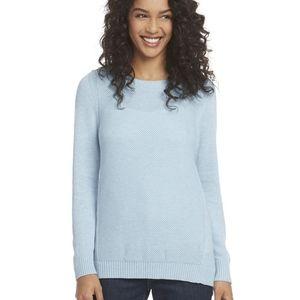 Honeycomb-Stitch Sweater